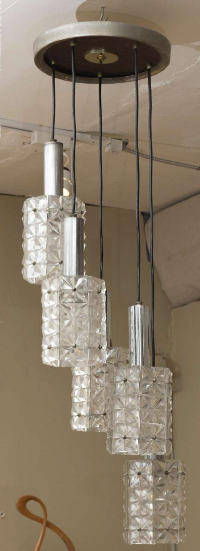 Mazzega Five Lights Pendant - 2