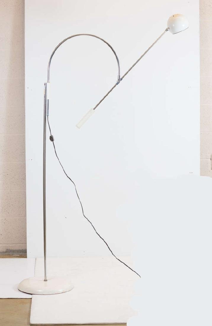 Robert Sonneman 1960s Large Orbiter Floor Lamp - 2