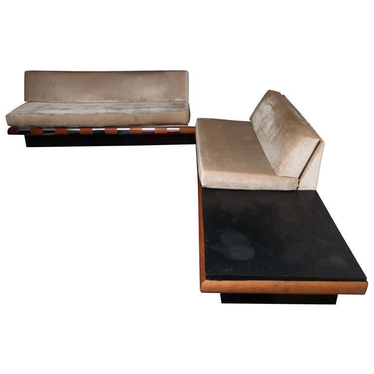 Adrian Pearsal Platform Sofas