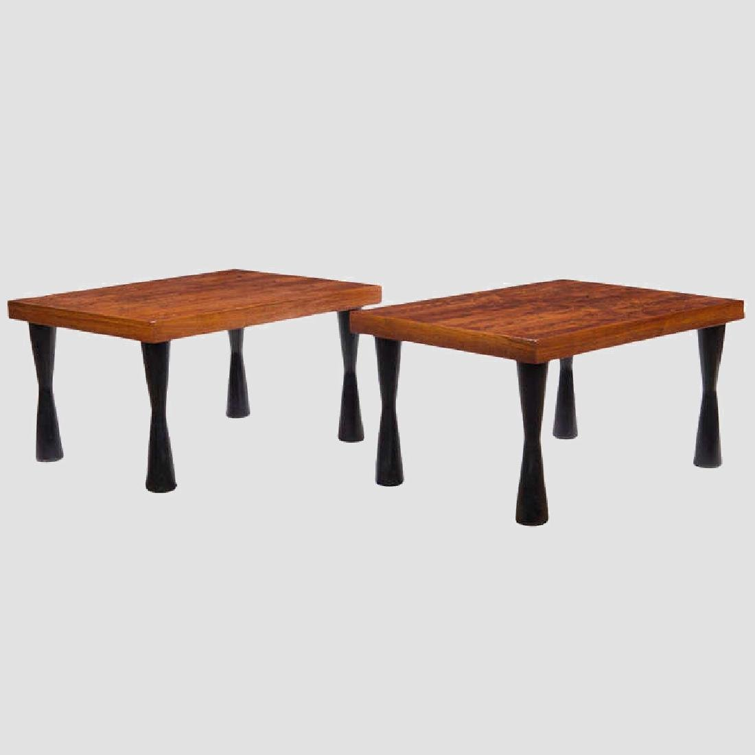 Rosewood End Tables