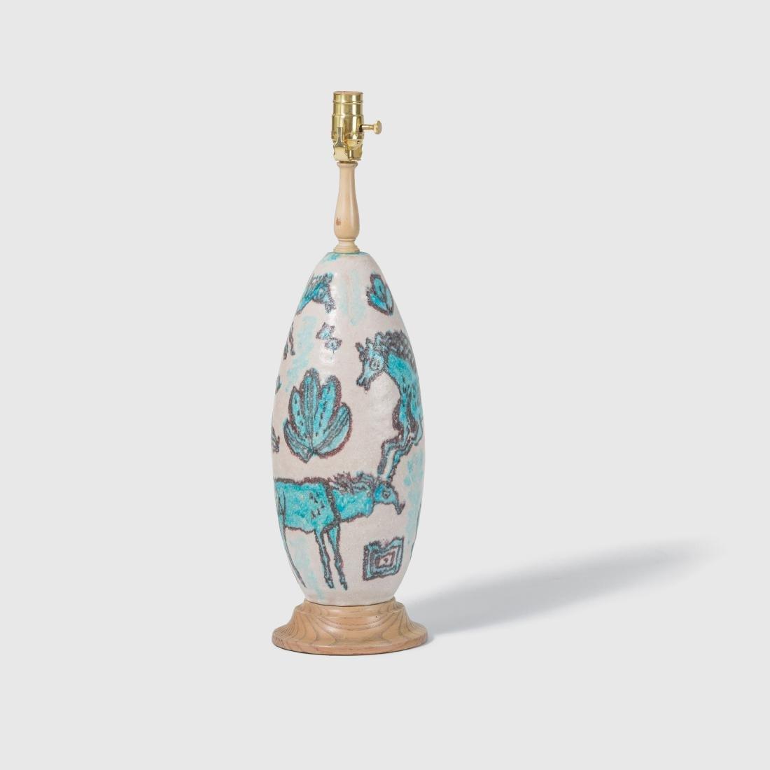 Guido Gambone Table Lamp
