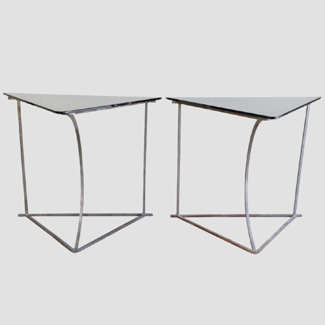 Steel and Glass Tables