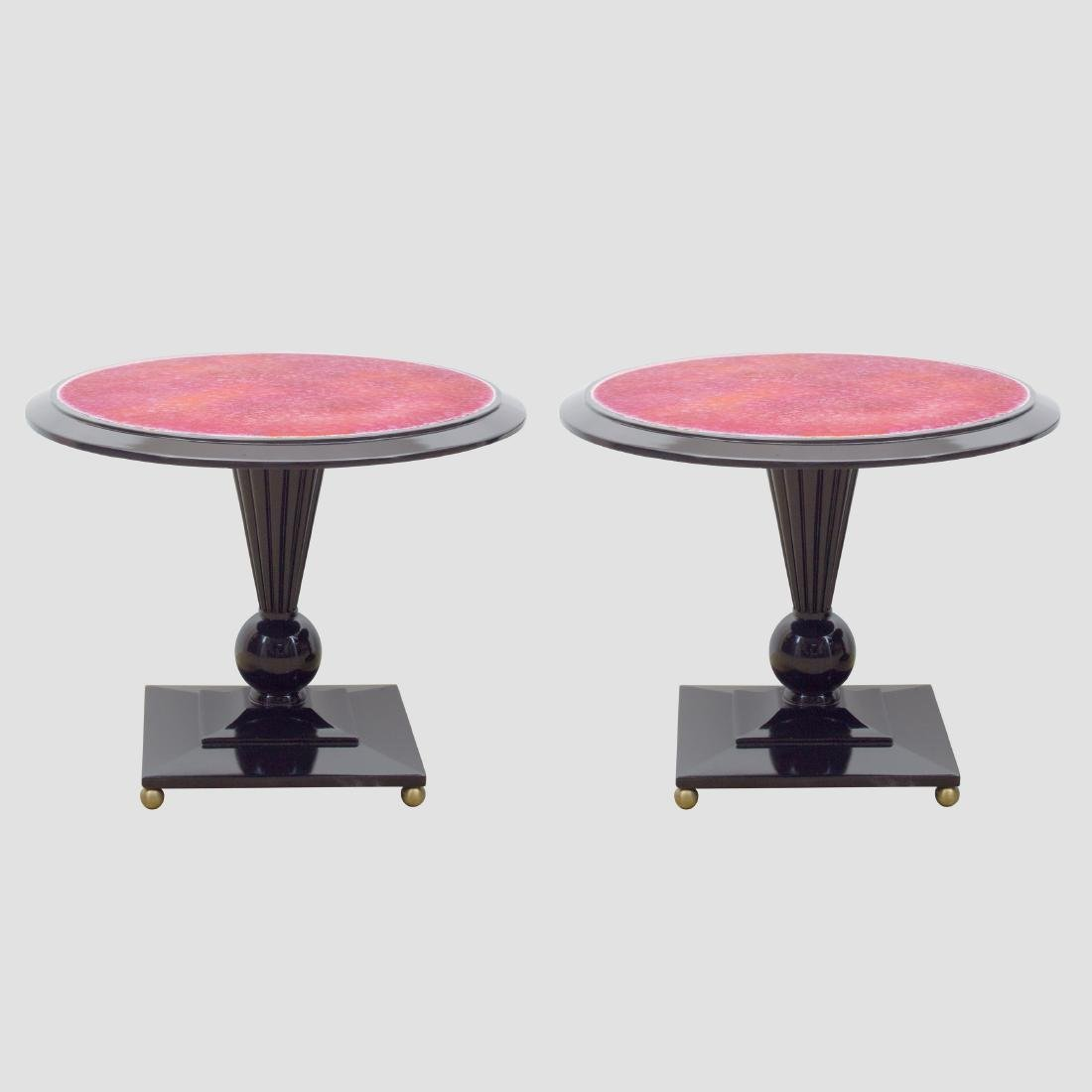 Side Tables by Doris Hall