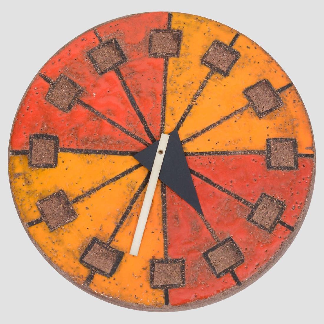 Howard Miller Italian Ceramic Clock