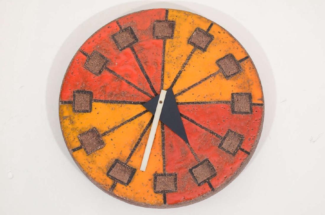 Howard Miller Italian Ceramic Clock - 2