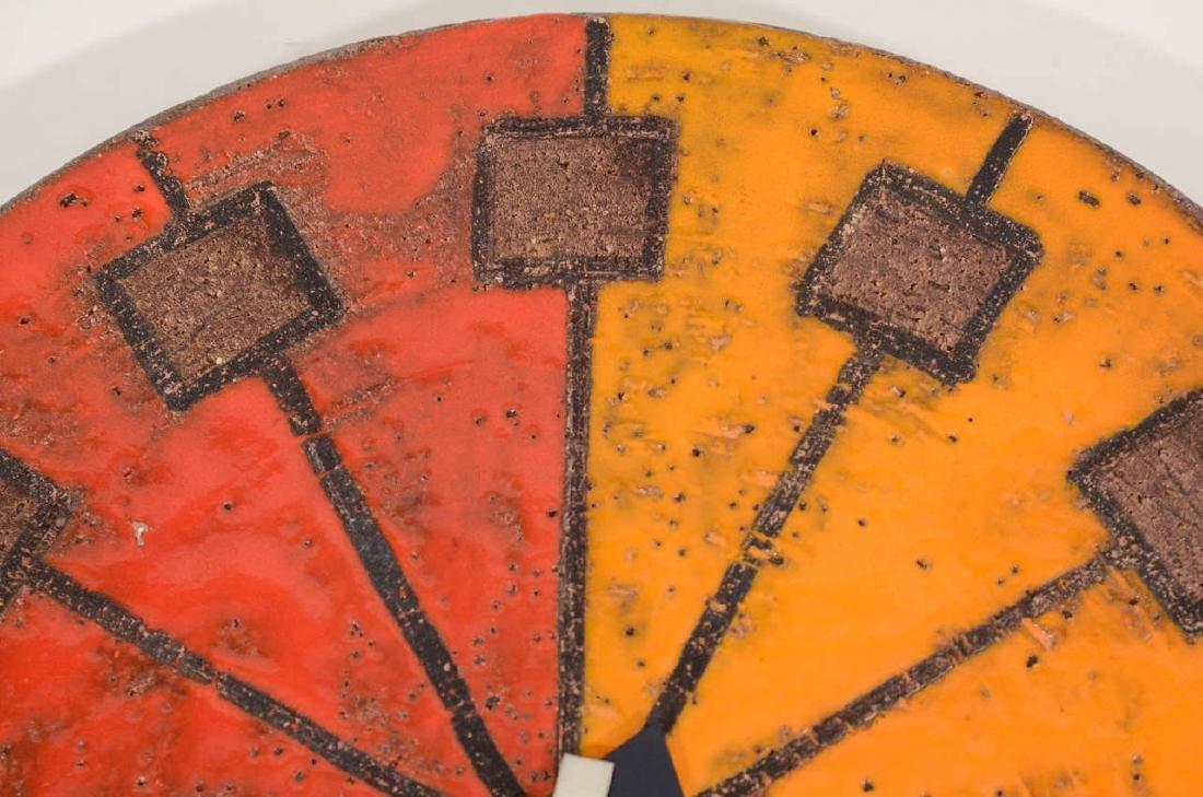Howard Miller Italian Ceramic Clock - 4