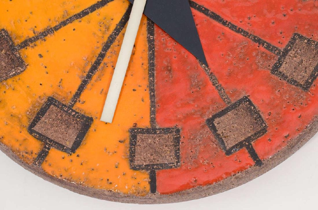 Howard Miller Italian Ceramic Clock - 5
