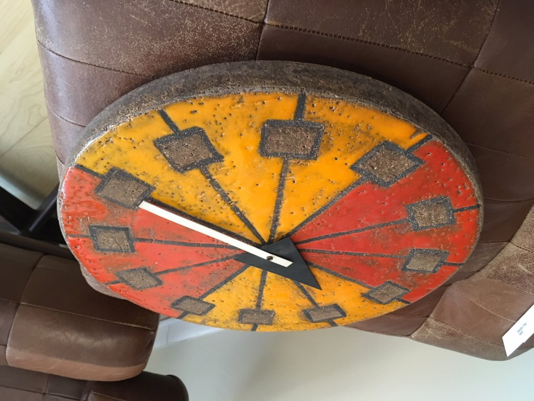 Howard Miller Italian Ceramic Clock - 7