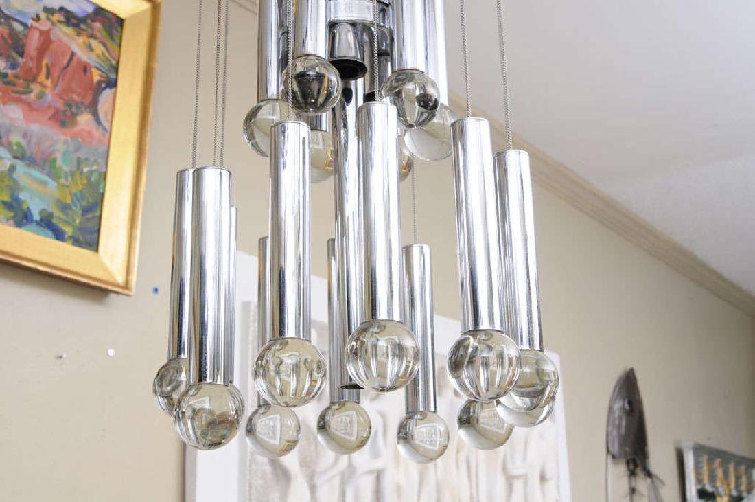 Sciolari Three Tier Ball Chandelier - 3