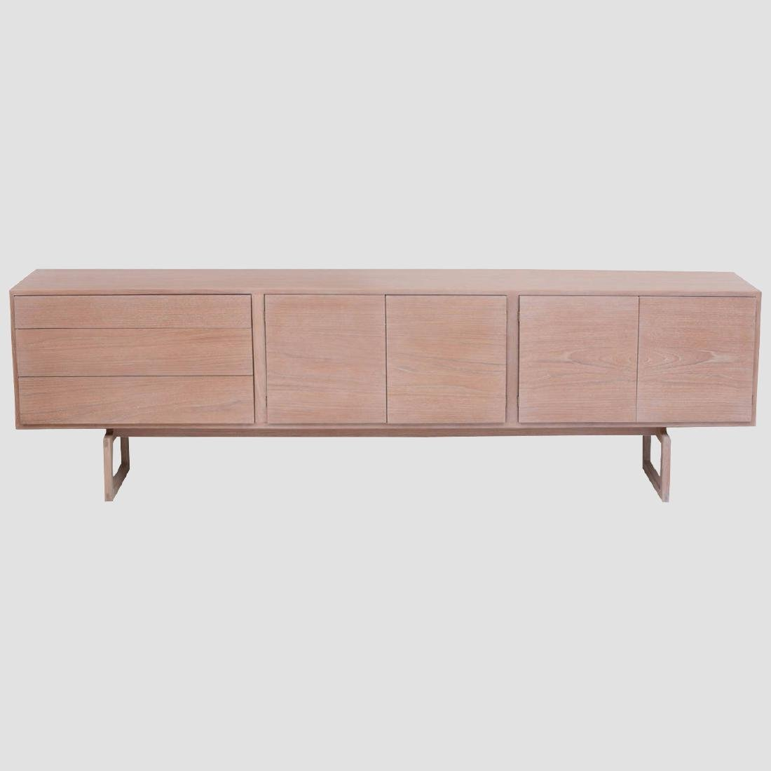 Arne Vodder Buffet in Bleached Teak