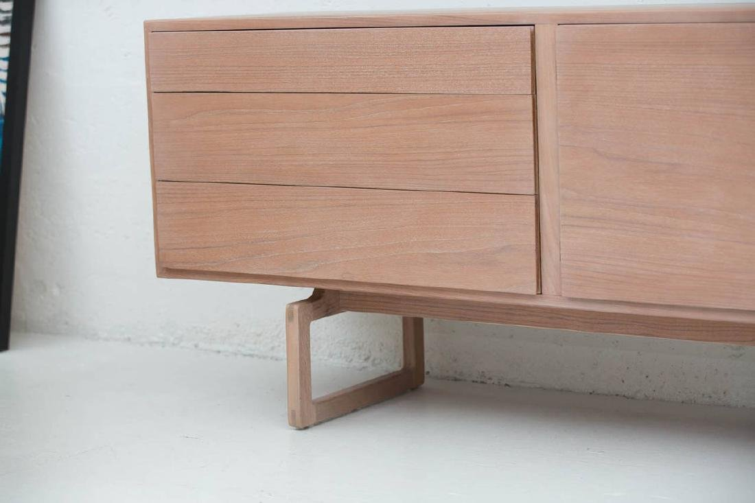 Arne Vodder Buffet in Bleached Teak - 3