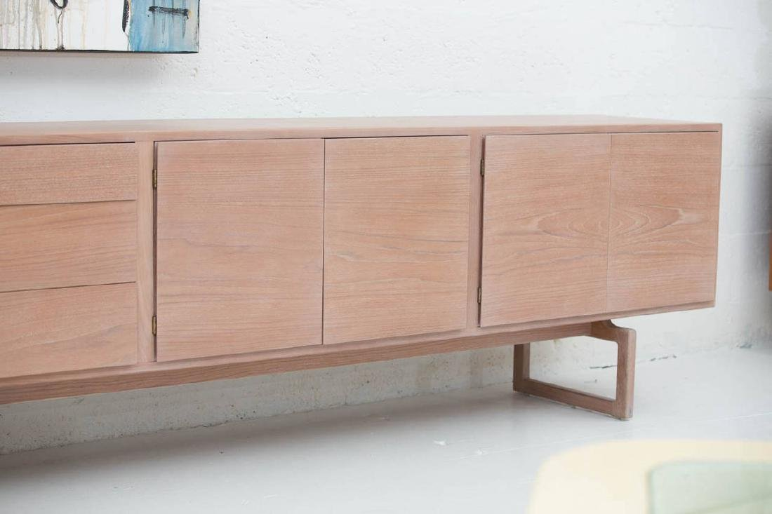 Arne Vodder Buffet in Bleached Teak - 5