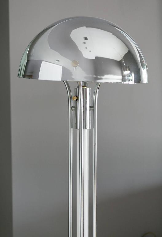 Modern Chrome Floor lamp - 2