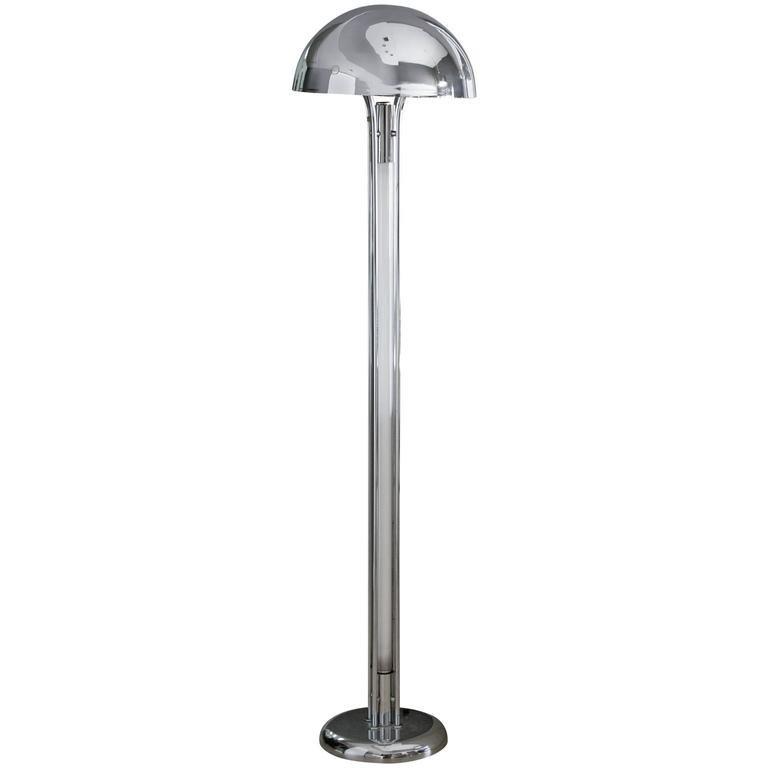 Modern Chrome Floor lamp - 5