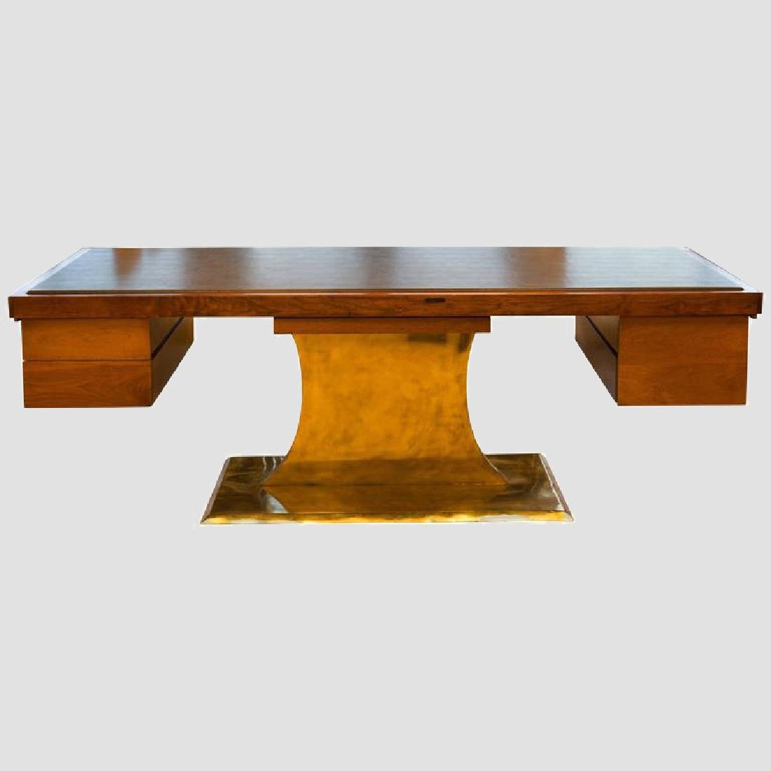 Executive Pedestal Desk by Harvey Probber