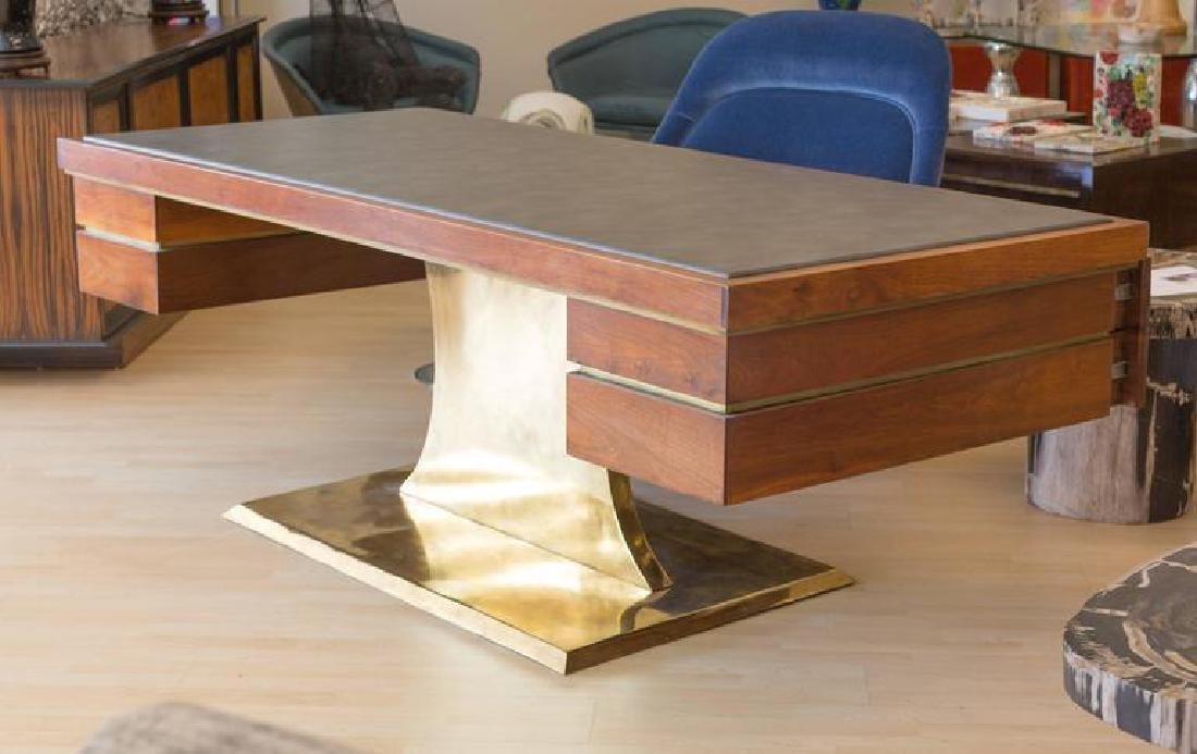Executive Pedestal Desk by Harvey Probber - 3