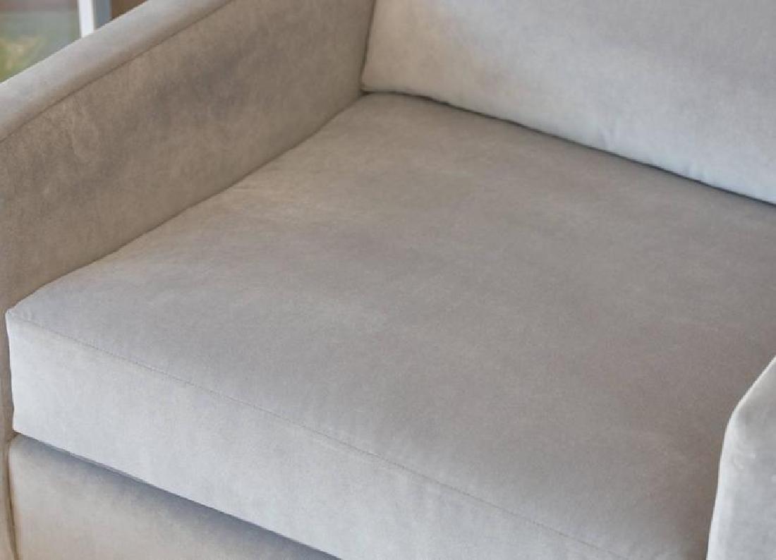 Harvey Probber Velvet Cube Chairs - 5