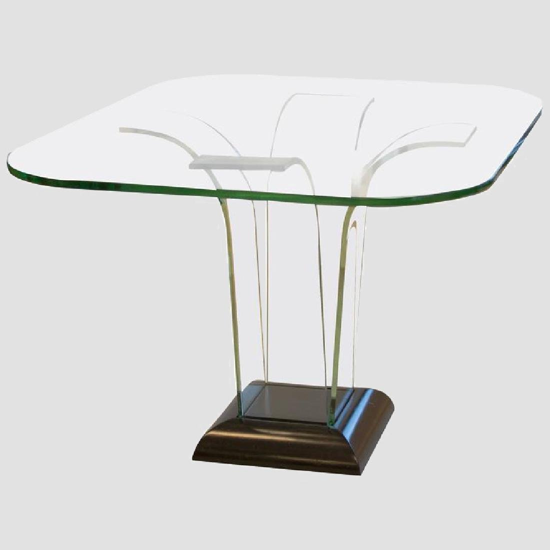 Glass Center Table by Modernage