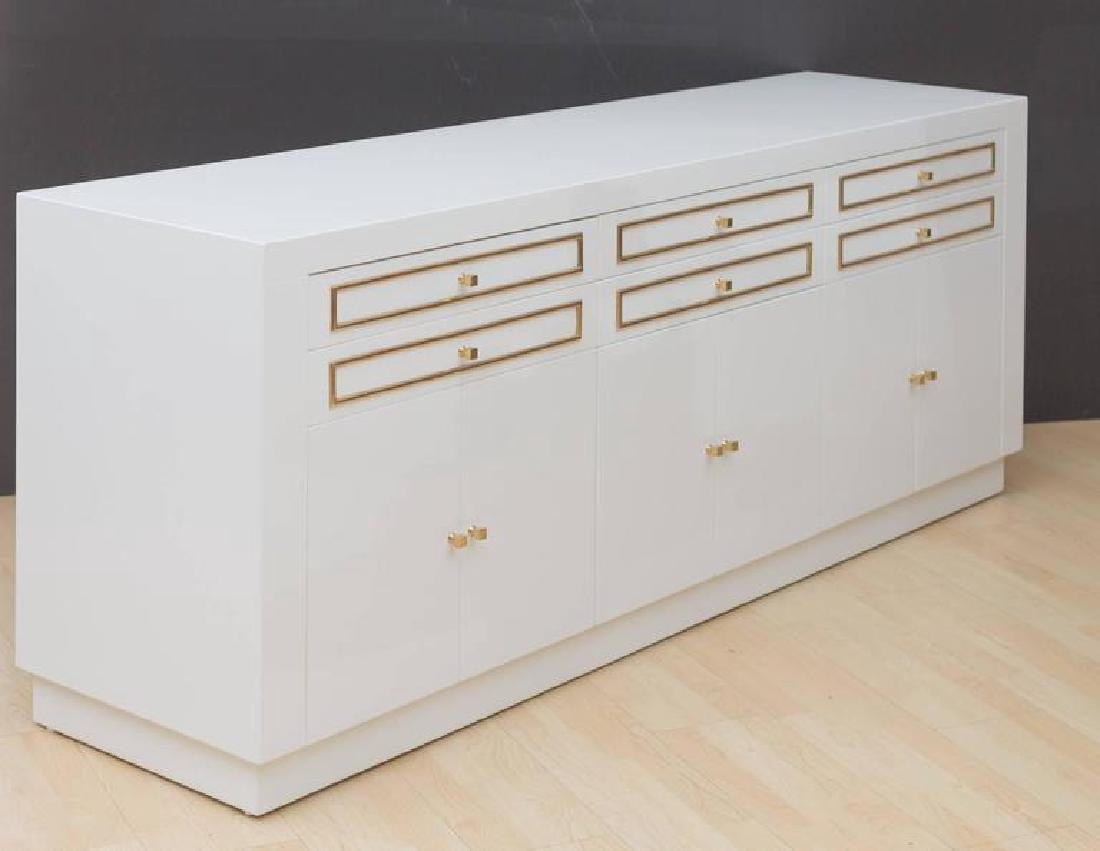 1970s Custom Lacquered Sideboard - 2
