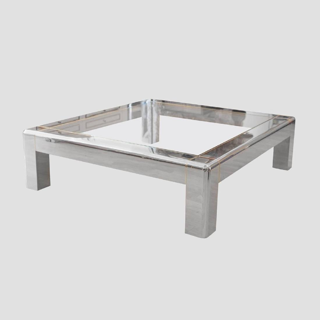 Karl Springer Low Coffee Table