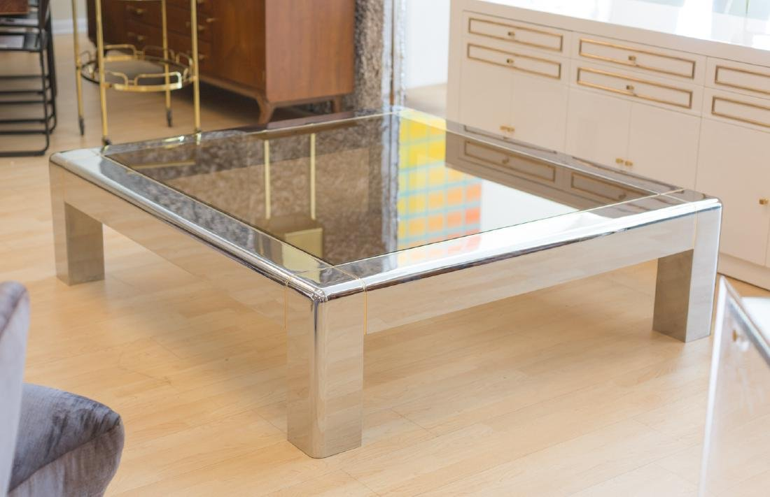 Karl Springer Low Coffee Table - 2