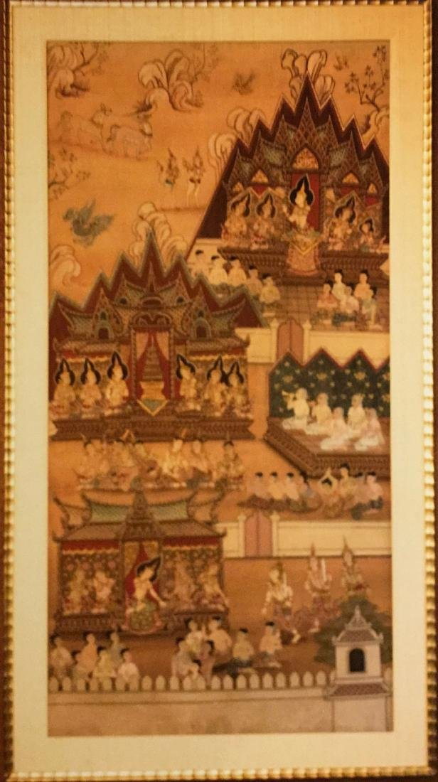 Narrative Painting, Thailand, 19th Century