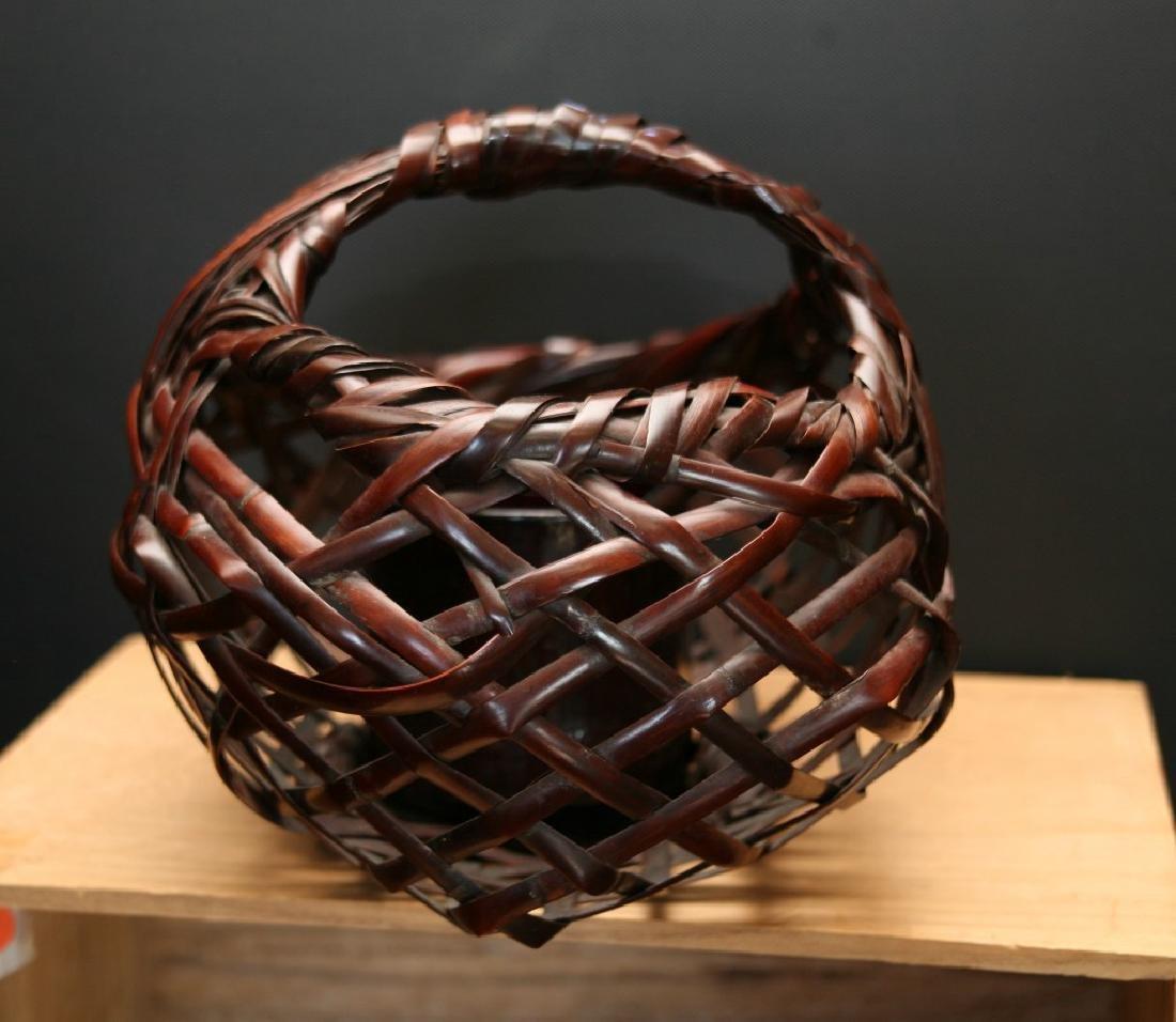 Bamboo Basket by Maeda Chikubosai (1917-2003) - 2