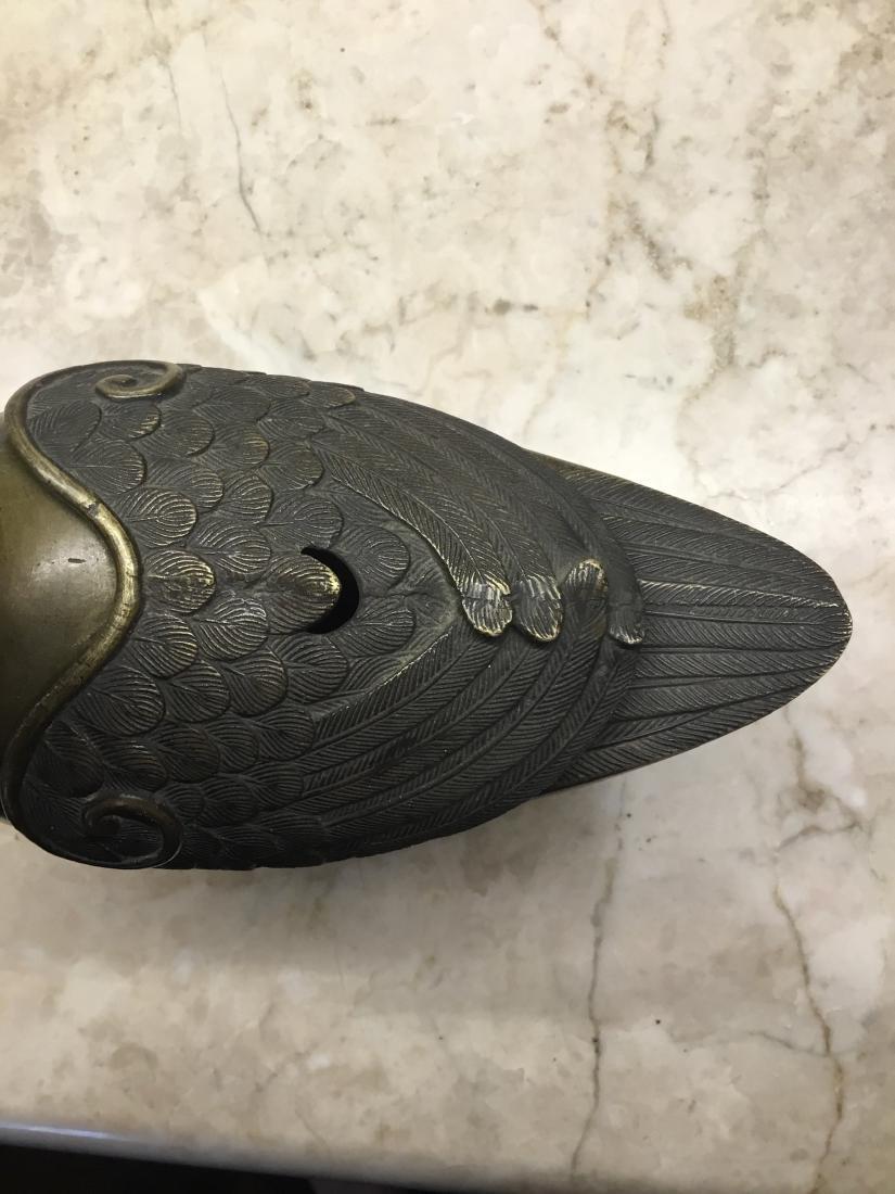 Bronze Goose Censer, Japan, Maiji Period - 2