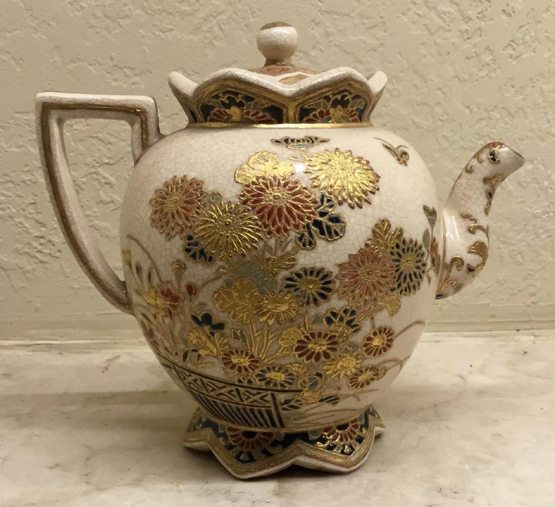 Satsuma Teapot - 2