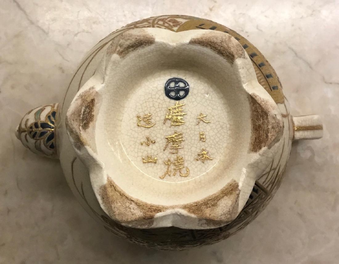 Satsuma Teapot - 4