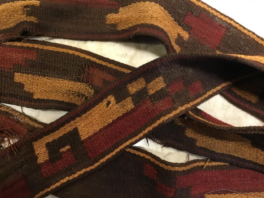 Pre-Columbian Textile, Long Strap, Siguas Culture, Peru - 2