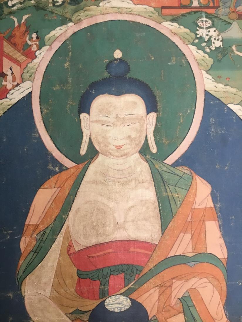 Jataka Thangka, Bhutan, 18th/19th Century - 2