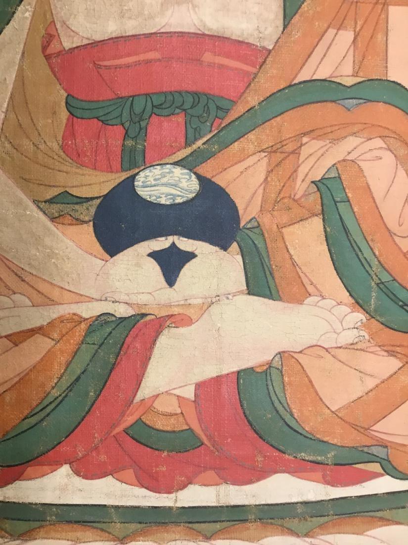 Jataka Thangka, Bhutan, 18th/19th Century - 3