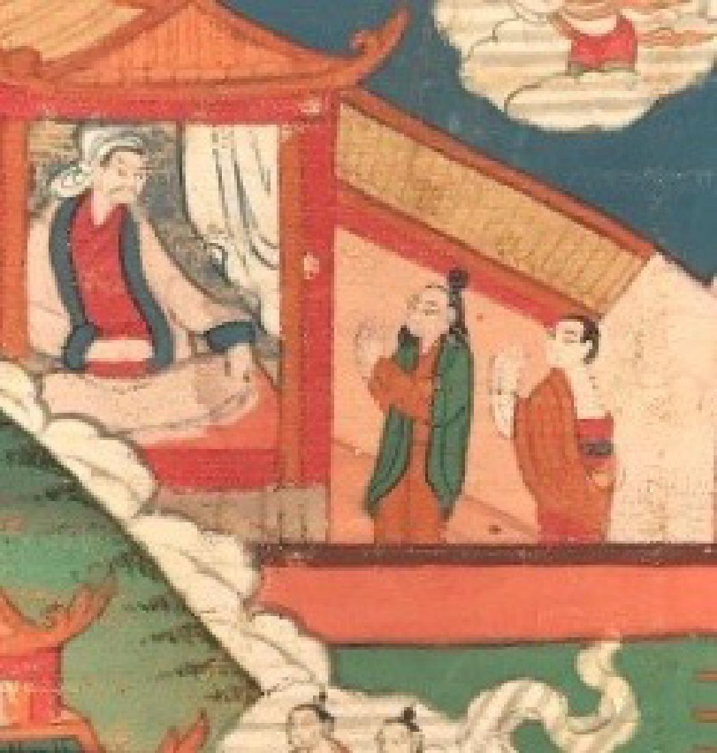 Jataka Thangka, Bhutan, 18th/19th Century - 5