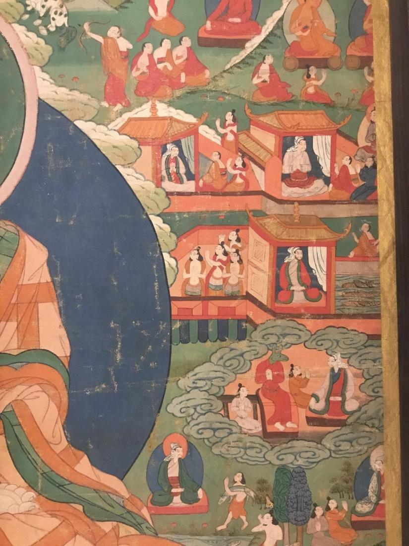 Jataka Thangka, Bhutan, 18th/19th Century - 6