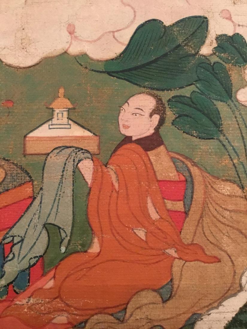Jataka Thangka, Bhutan, 18th/19th Century - 7