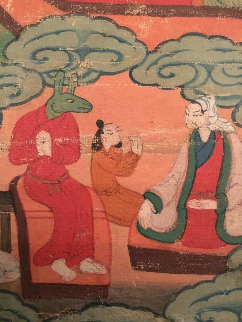 Jataka Thangka, Bhutan, 18th/19th Century - 9