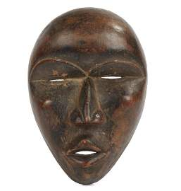 Dan Mask, Late 19/Early 20th Century