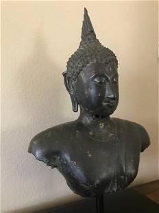 Sukhothai Buddha, Bronze, Thailand, 14/15th Century