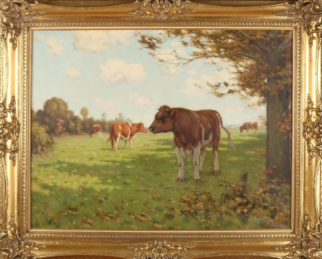 Evert Rabbers. 1875 - 1967 Enschede. Twente landscape