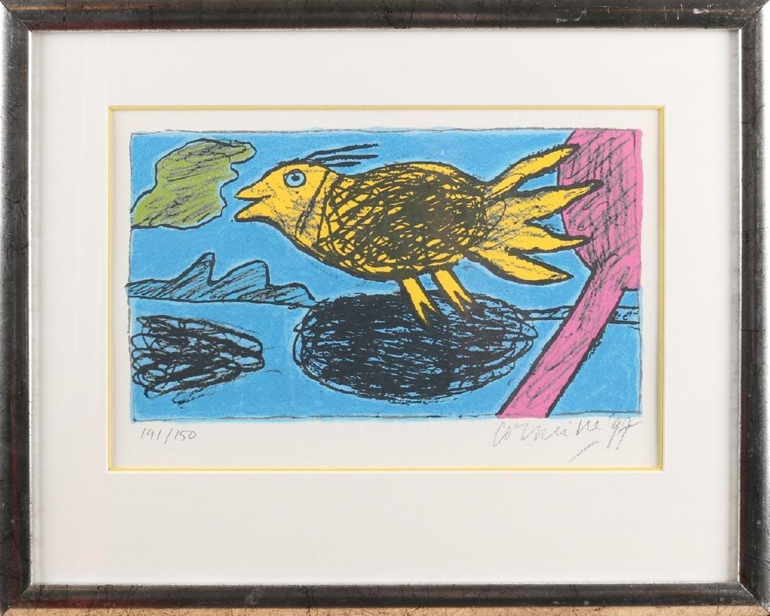 Guilliaume Corneille '97. No. 141/150. Bird in air.