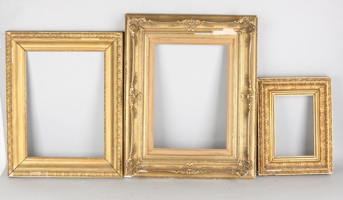 Antique picture frames damaged size 40 57 cm three antique picture frames damaged size 40 57 cm jeuxipadfo Gallery
