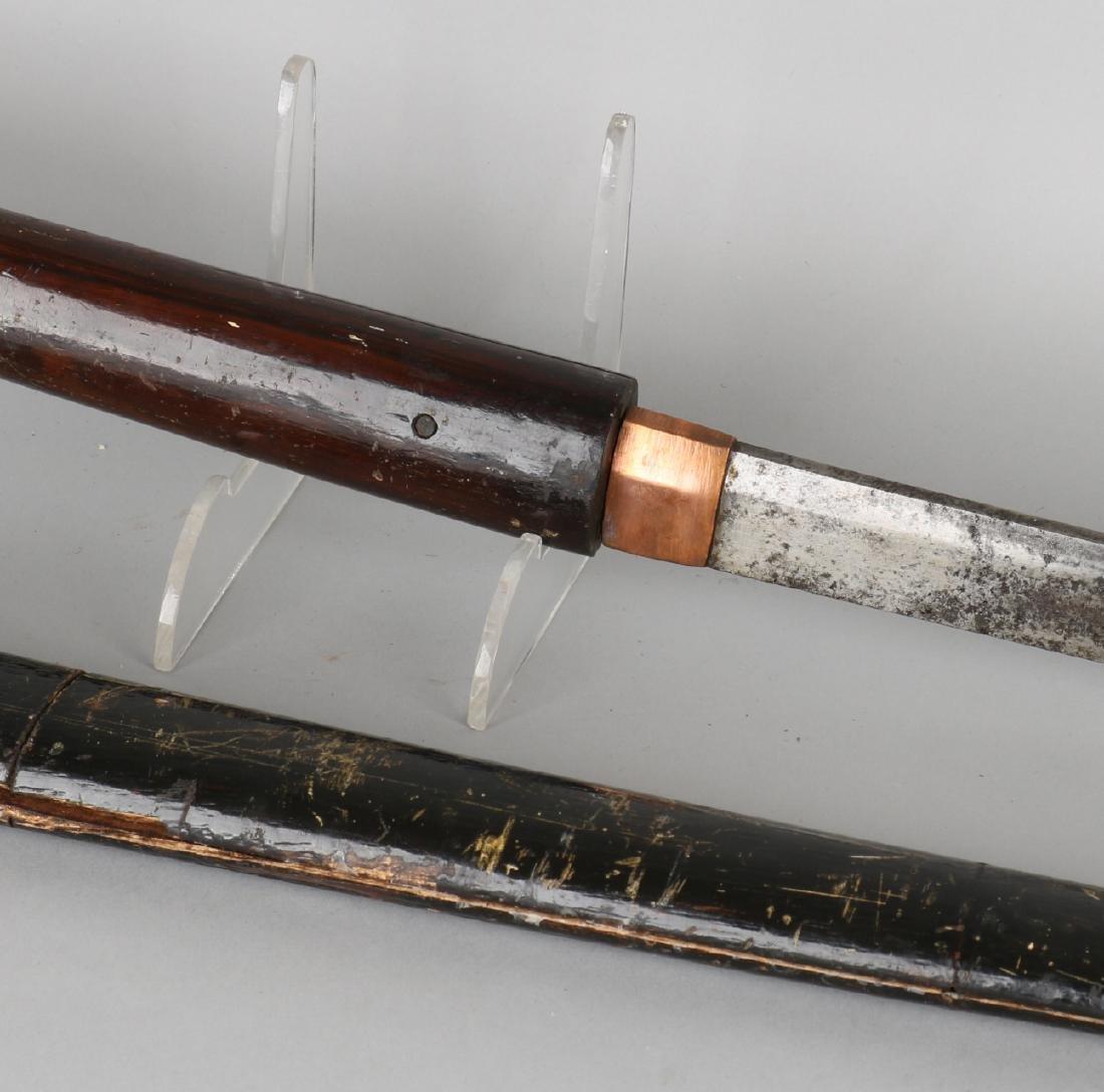 19th Century original Japanese Katana (long) sword with - 3
