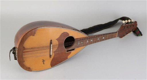 Signed German antique mandolin  Circa 1900  With - Jan 12