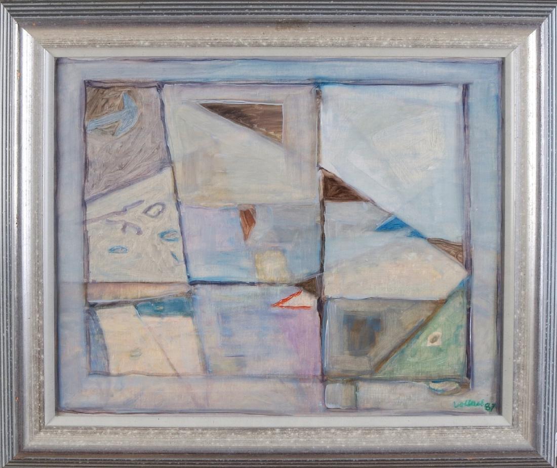 Meinert Volkers '87. 1927 - 2000. Abstract composition.