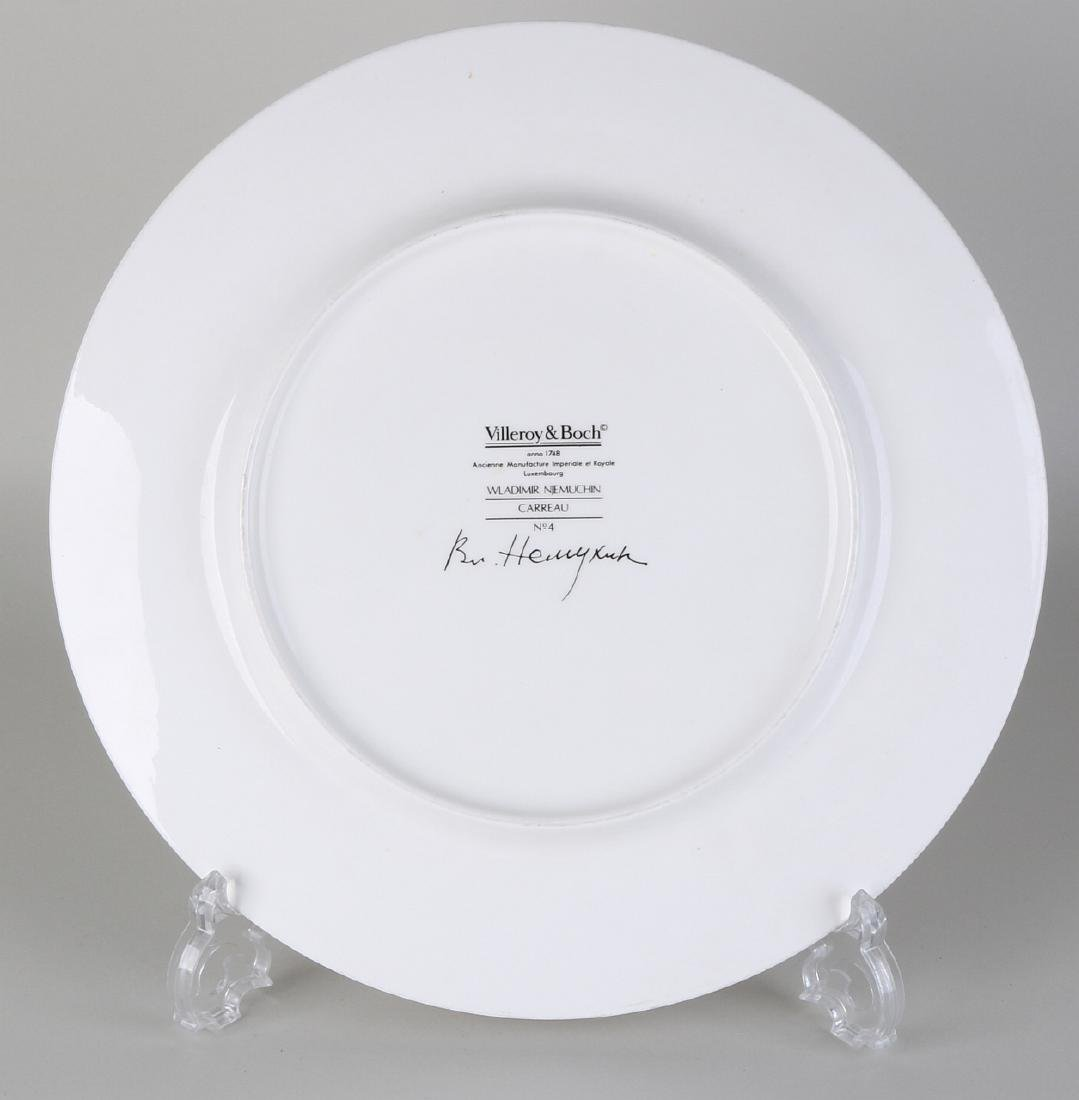Villeroy and Boch limited decorative plate. Designed by - 2