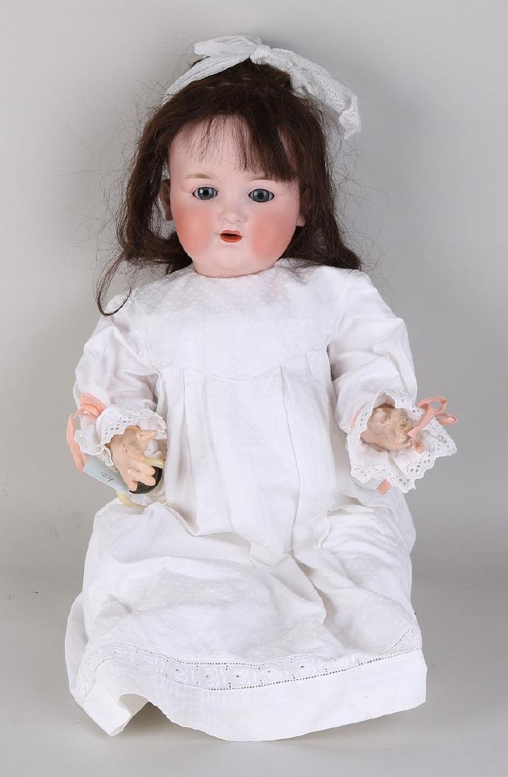 Porcelain doll, Armand Marseille, template number 990,