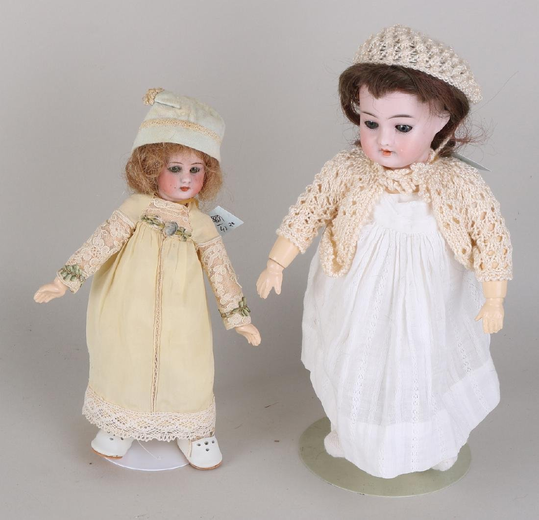 Porcelain doll. Armand Marseille. Template number 390.