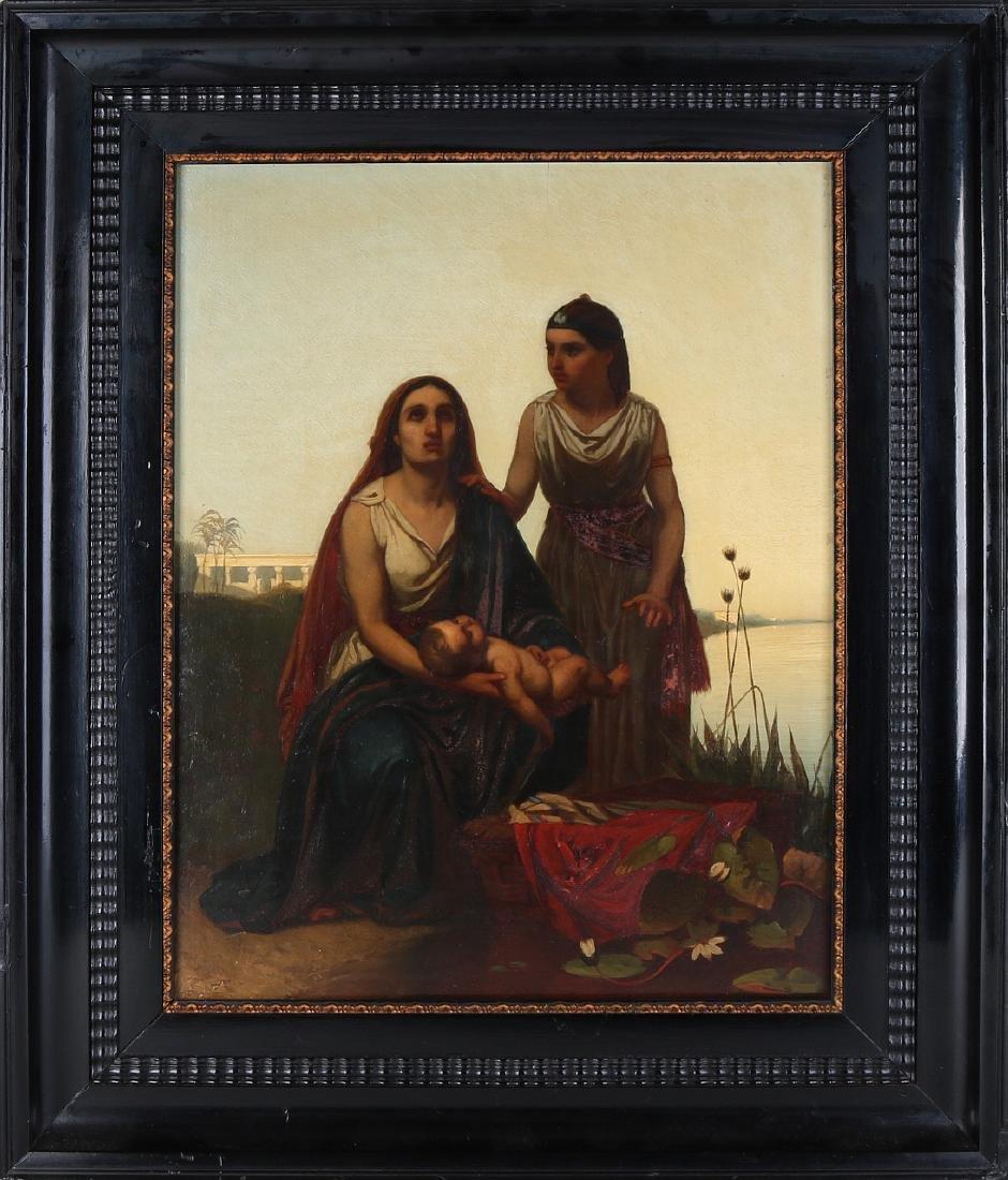 HA van Trigt. 1829 - 1899. Egyptian representation.
