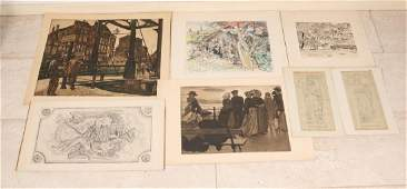Interesting big lot of miscellaneous. 29 Works by Paul